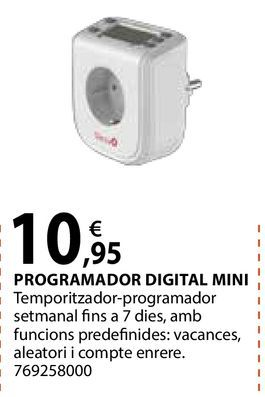 Oferta de Programador digital mini por 10,95€