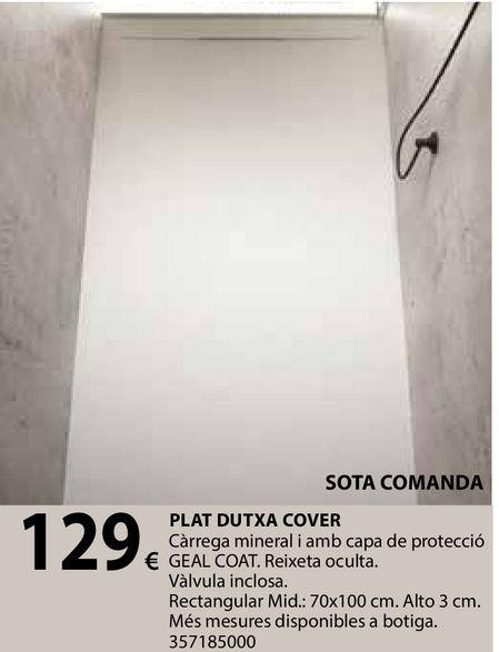 Oferta de Plat dutxa cover por 129€
