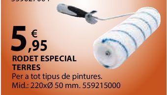 Oferta de Rodet especial terres por 5,95€