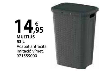 Oferta de Multiús por 14,95€