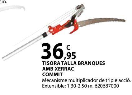 Oferta de Tisora talla branques amb xerrac por 36,95€