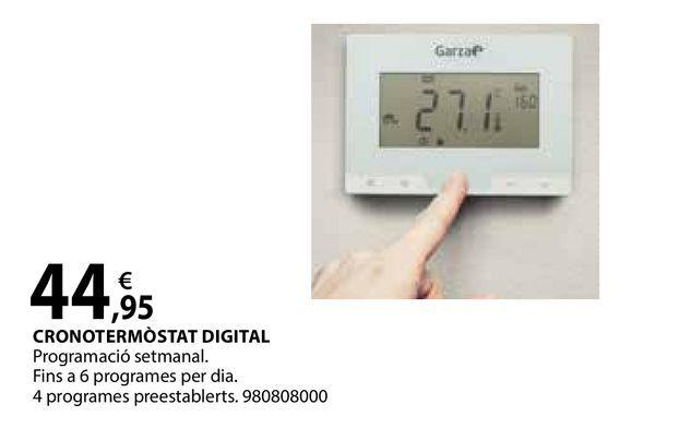 Oferta de Cronotermòstat digital por 44,95€