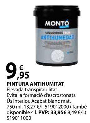 Oferta de Pintura antihumitat por 9,95€