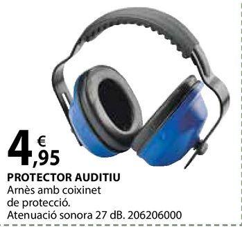 Oferta de Protector auditiu por 4,95€