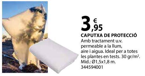 Oferta de Caputxa de protecció por 3,95€