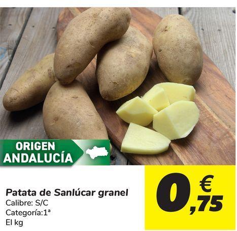 Oferta de Patata de Sanlúcar granel  por 0,75€