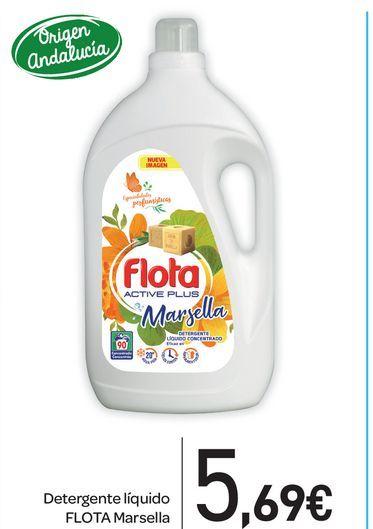 Oferta de Detergente líquido Flota Marsella por 5,69€