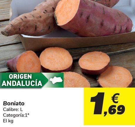 Oferta de Boniato por 1,69€