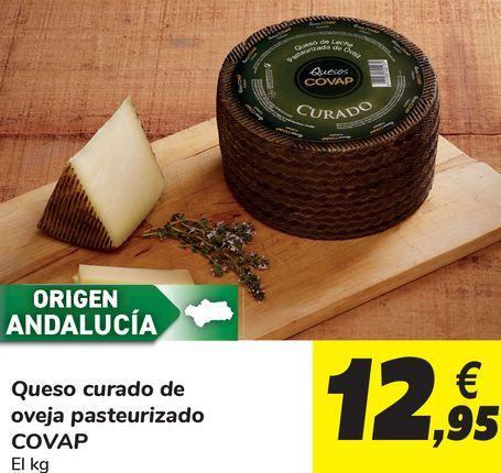 Oferta de Quescurado de oveja pasteurizado Covap por 12,95€