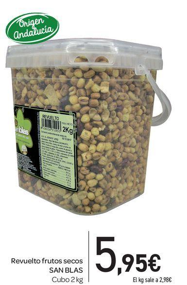 Oferta de Revuelto de frutos secos San Blas, cubo 2 kg por 5,95€