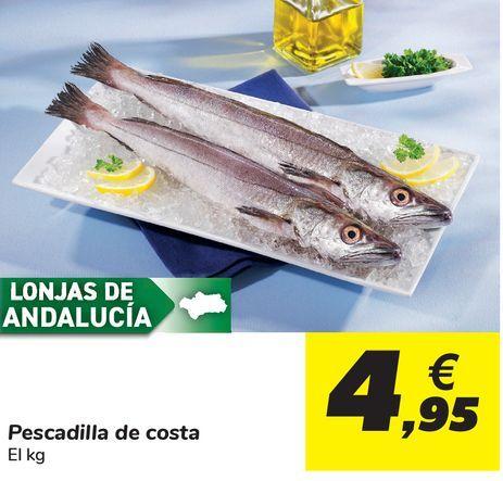 Oferta de Pescadilla de la costa por 4,95€