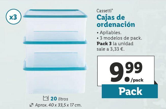 Oferta de Cajas por 9,99€