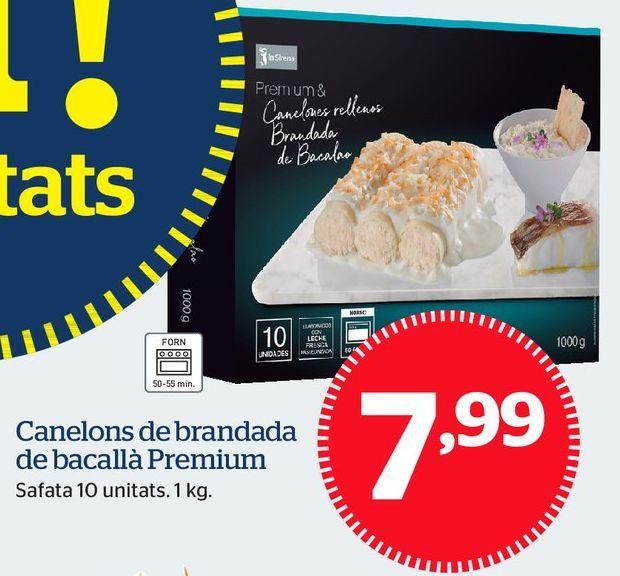 Oferta de Canelones por 7,99€
