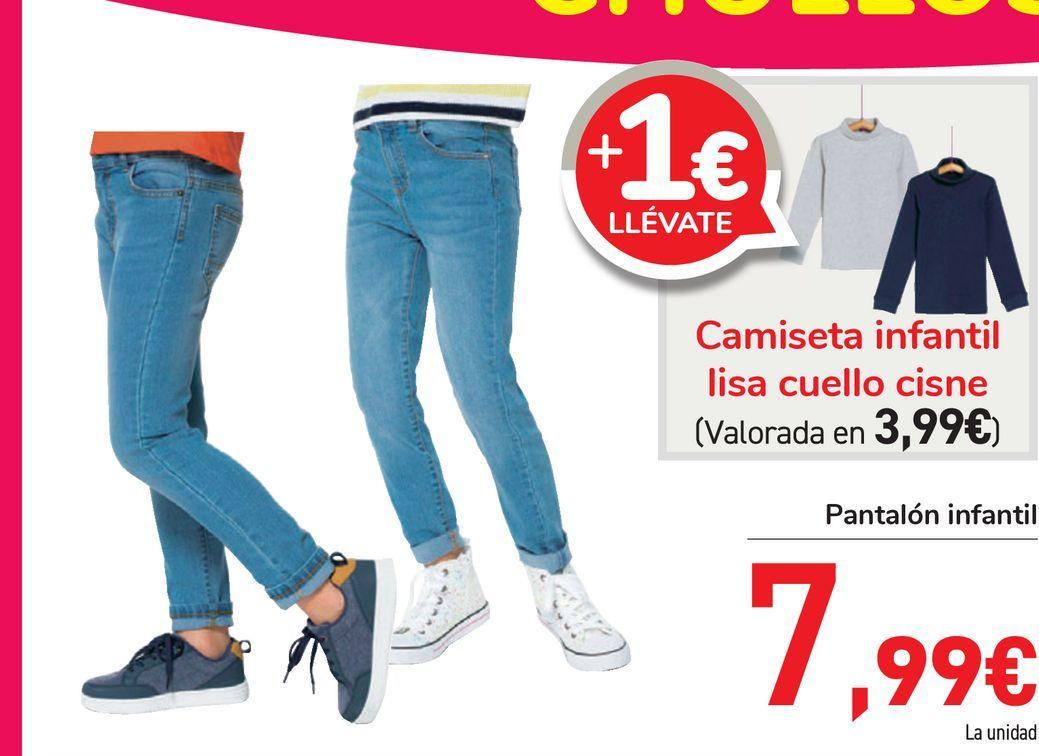 Oferta de Pantalón infantil por 7,99€