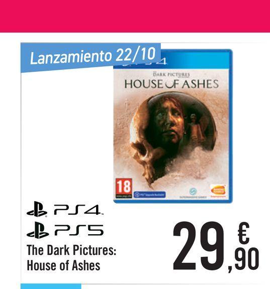 Oferta de The Dark Pictures Anthology: House of Ashes para PS4 por 29,9€