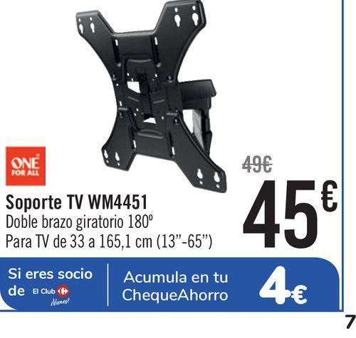 Oferta de Soporte TV WM4451 por 45€