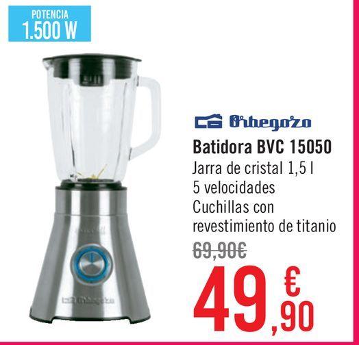 Oferta de Batidora BVC 15050 por 49,9€