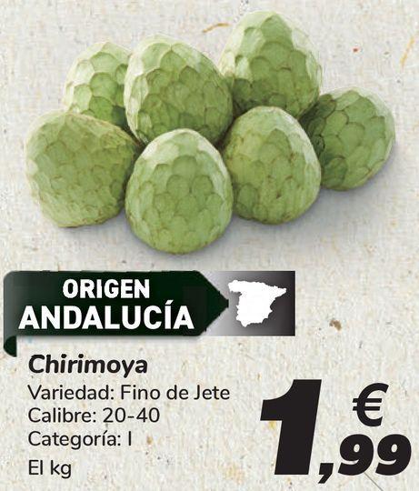 Oferta de Chirimoya  por 1,99€