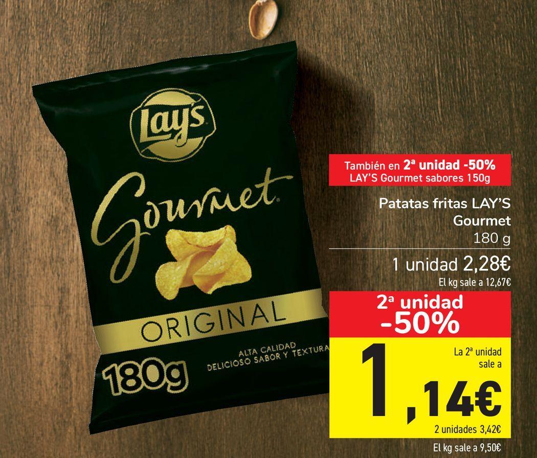 Oferta de Patatas fritas LAY'S Gourmet  por 2,28€