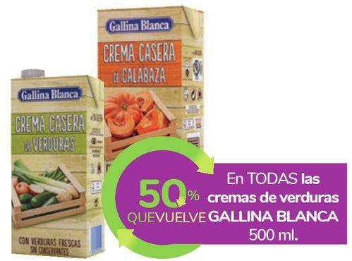 Oferta de En TODAS las cremas de verduras GALLINA BLANCA  por