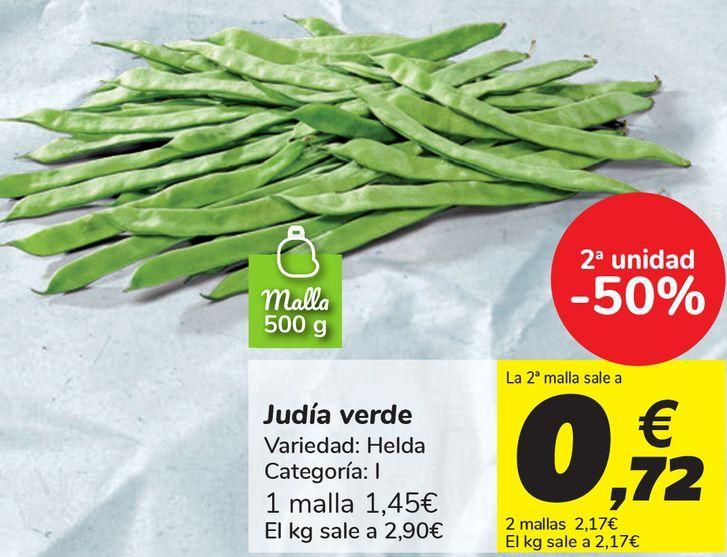 Oferta de Judía verde  por 1,45€