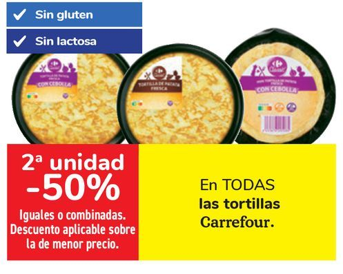 Oferta de En TODA las tortillas Carrefour  por