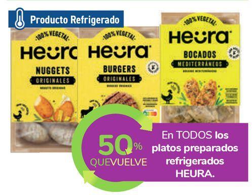Oferta de En TODOS los platos preparados refrigerados HEURA por