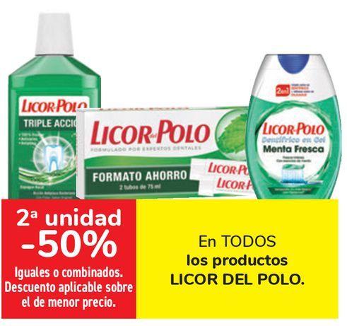 Oferta de En TODOS los productos LICOR DEL POLO  por