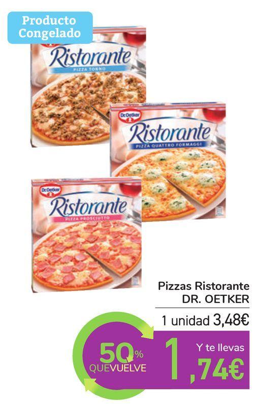Oferta de Pizzas Ristorante DR. OETKER por 3,48€