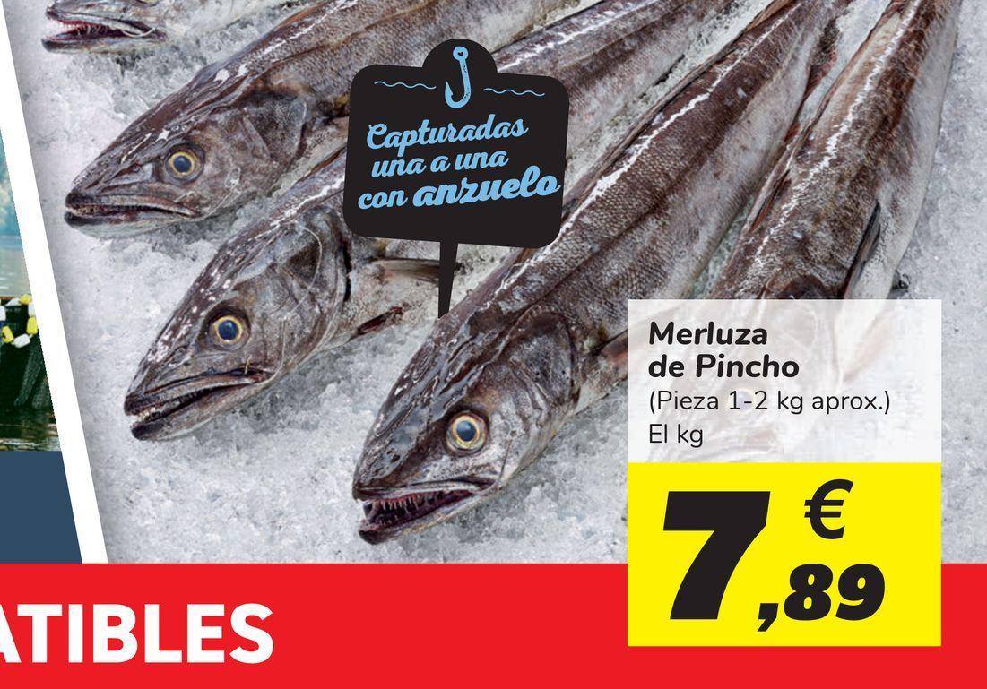 Oferta de Merluza de Pincho por 7,89€