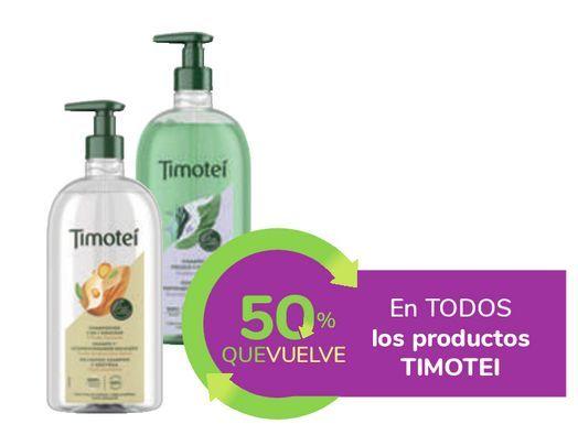 Oferta de En TODOS los productos TIMOTEI por