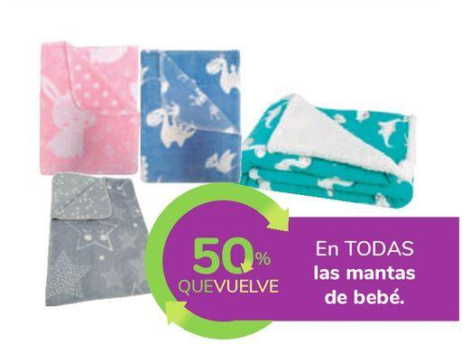 Oferta de En TODAS las mantas de bebé por