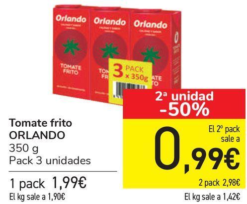 Oferta de Tomate frito ORLANDO  por 1,99€