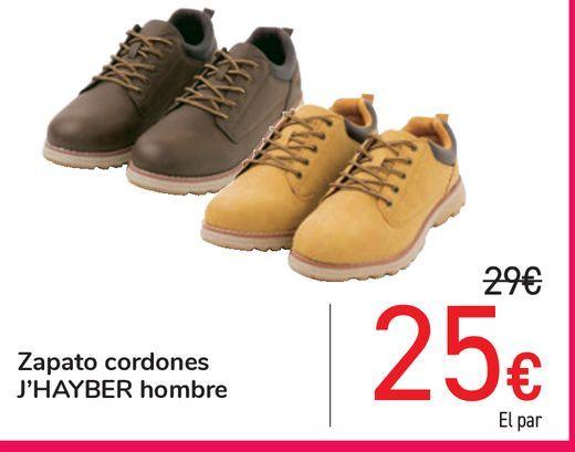 Oferta de Zapato cordones J'HAYBER hombre por 25€
