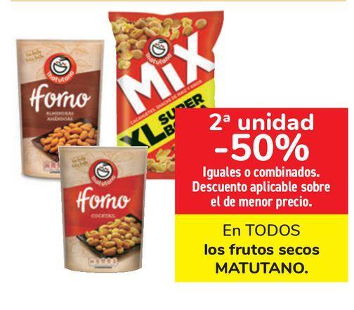 Oferta de En TODOS los frutos secos MATUTANO  por