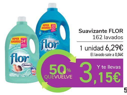 Oferta de Suavizante FLOR  por 6,29€