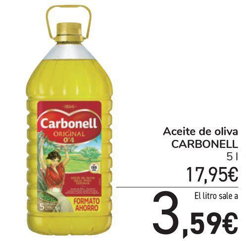 Oferta de Aceite de oliva CARBONELL  por 17,95€
