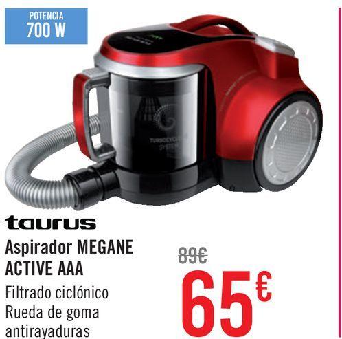 Oferta de Aspirador Taurus Megane Active AAA por 65€