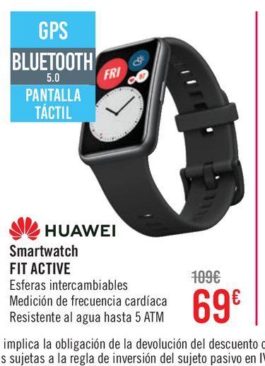 Oferta de Huawei Watch Fit Active  por 69€