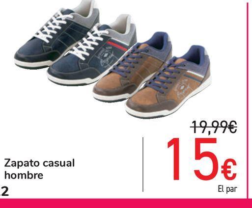 Oferta de Zapato casual hombre por 15€
