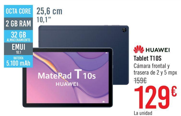 Oferta de Tablet Huawei T10s por 129€