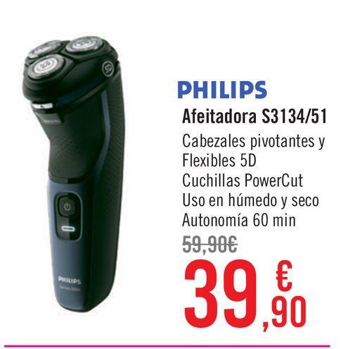 Oferta de Afeitadora Philips por 39,9€