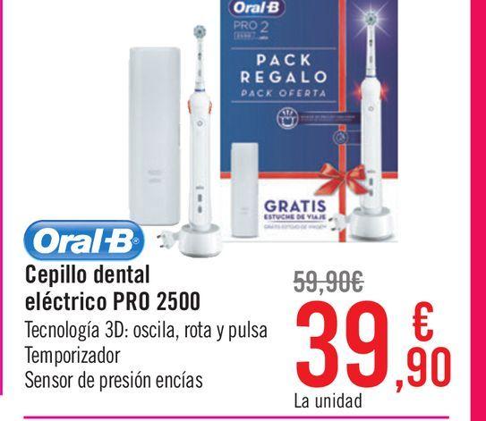 Oferta de Cepillo dental eléctrico PRO 2500  por 39,9€