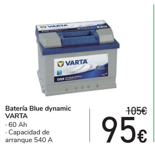 Oferta de Batería Blue dynamic VARTA por 95€