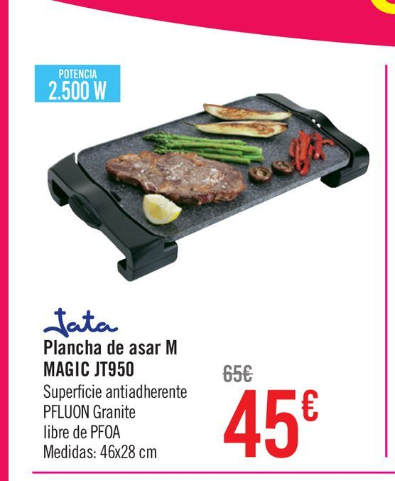 Oferta de Plancha de asar M Magic  por 45€