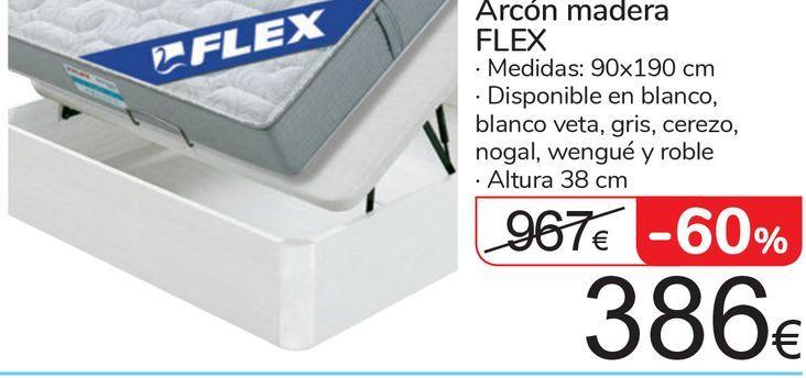 Oferta de Arcón madera FLEX por 386€