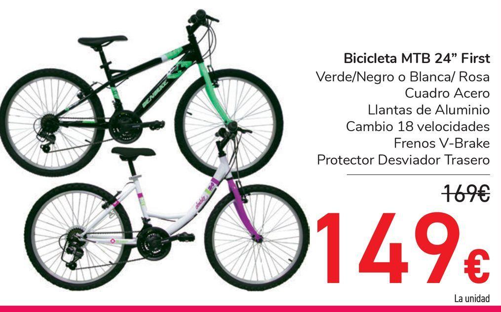 """Oferta de Bicicleta MTB 24"""" First por 149€"""