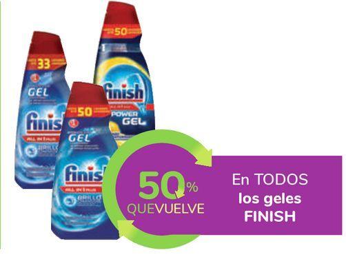 Oferta de En TODOS los geles FINISH por
