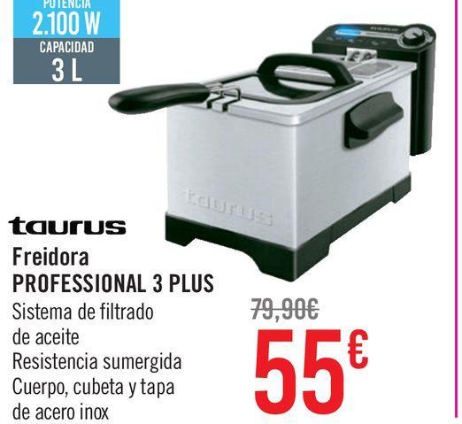 Oferta de Freidora PROFESSIONAL 3 PLUS por 55€