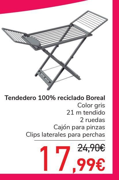 Oferta de Tendedero de balcón carrefour por 17,99€